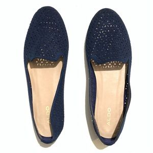 Aldo Blue Flats New loafers wedged heel